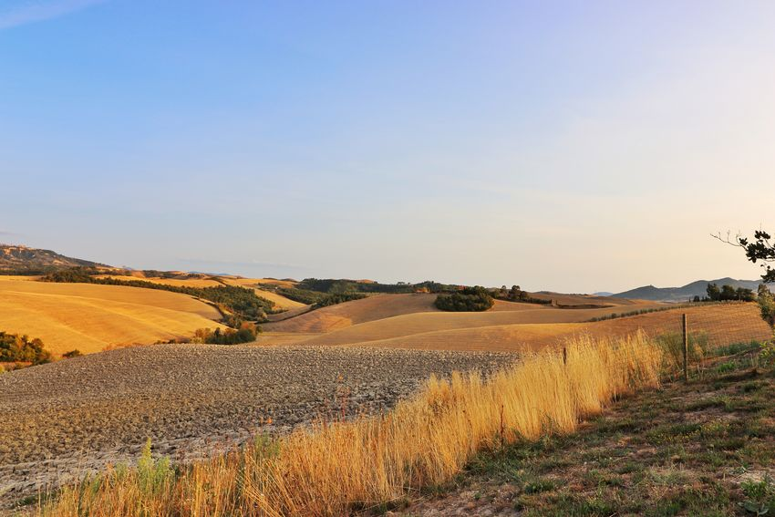 Campagna Toscana Landscape_lovers Landscapephotography Photo CanonRebel Eos77D Tuscany Chisifermaèperduto Picture Sky_captures MR7 Color Nature Italy Countryside Freedom Blue Red Photography Canon Picoftheday