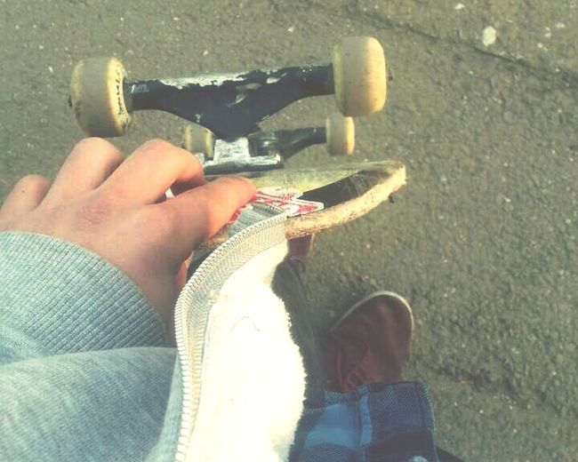 Skateboarding Sunnyday☀️ Fall Chill High Weed Having Fun Skatelife First Eyeem Photo