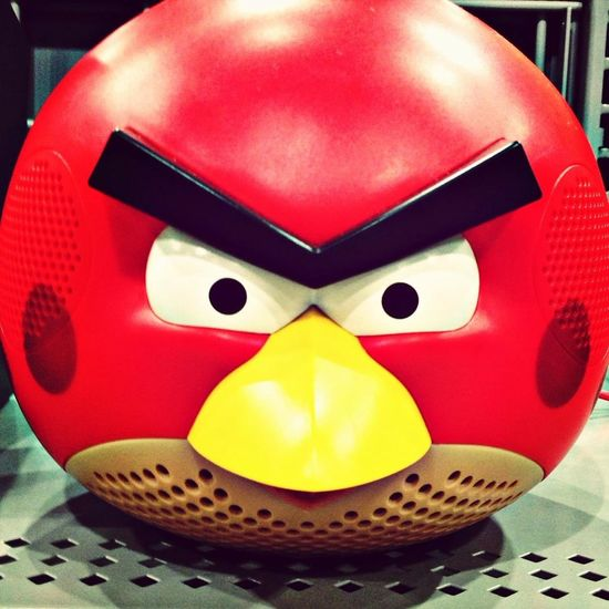 Angry Sound Angry Birds Speakers Cool