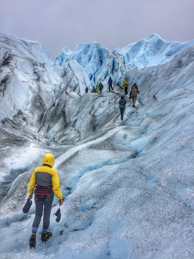 Perito Moreno. Patagonia. Argentina. Glacier Hike Glacier Enjoying Life Ice Landscape_Collection Cold Winter ❄⛄ Showcase:March Non-urban Scene Travel Photography Blue Ice Vacation Argentina Photography El Calafate Tourism On The Way Ice Age Enjoy The New Normal Lost In The Landscape