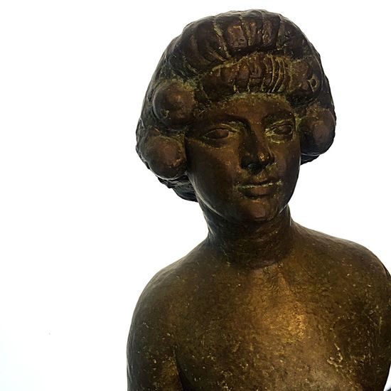 Paris Museum Art Sculpture Bourdelle Bronze Smile