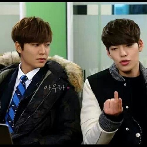 Dont u remember this eps . :) Youngdo Kimtan Woobin Leeminho heirs