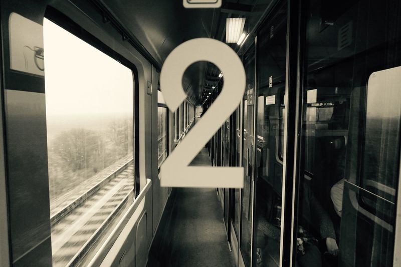 Check This Out Corridor Diminishing Perspective EyeEm Best Shots Mysterious Number On The Road Poland Railing Railway Second The Way Forward Train Travel Photography Travelling Trip Two Wagon  Window Things I Like