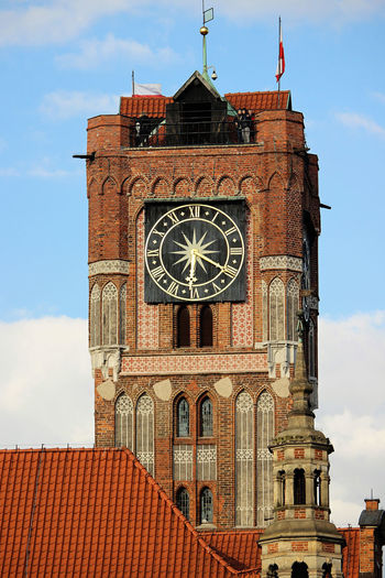 Toruń Toruń City Torun, Poland Toruń, Ratusz, Stary Rynek Torunskie Architecture Clock Clock Tower Travel Destinations Built Structure History City Gold Colored Time Day Architecture Old City TOWNSCAPE Gothic Gothic Style Town Templar Town Square Gothic Church
