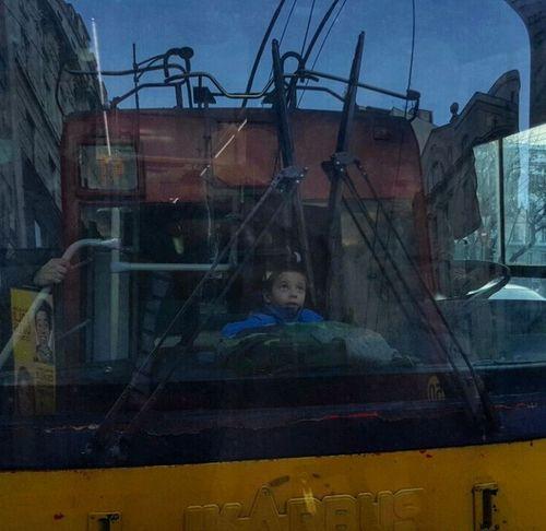 #Belgrade #boy #bus #childhood #drive #life #Look #photography #streetphotography