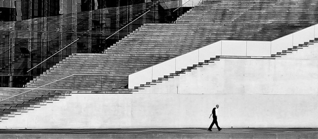 Berlin Portrait Blackandwhite Black & White Architecture_bw Architecture ArchiTexture Minimalism Stairs