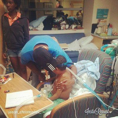 My men. Love Hug Seattlechildrens Seattlechildrenshospital pneumonia hearttransplant heartfelt posttransplant