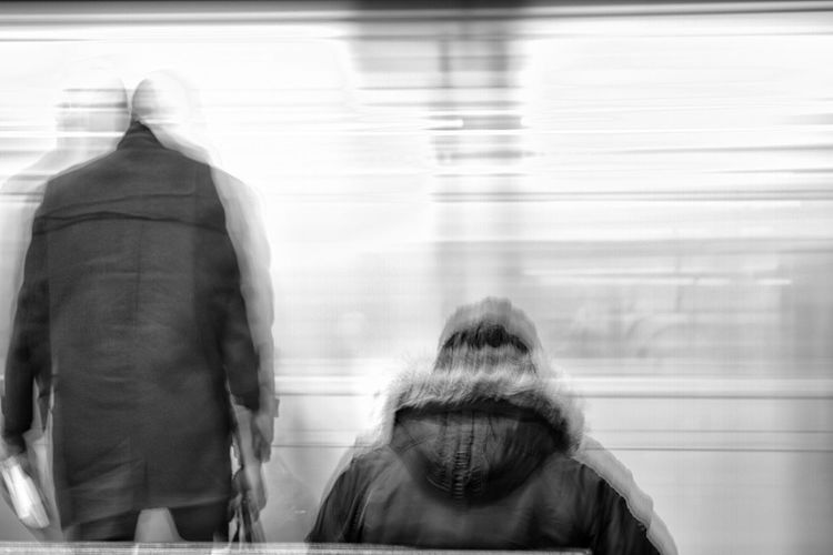 Subway train. Subway Train Train Station Subway Station Speed Movement Blur Blackandwhitephotography Blackandwhite Black & White