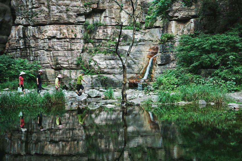 China Photos On A Hike Nature Enjoying The Sights Travel Walking Around Tree Treepark Water Reflections Outdoors Urban Nature People Watching Taking Photos Light And Shadow Summer Summer Green Picnic Wildlife & Nature Streamzoofamily The Great Outdoors - 2017 EyeEm Awards Live For The Story