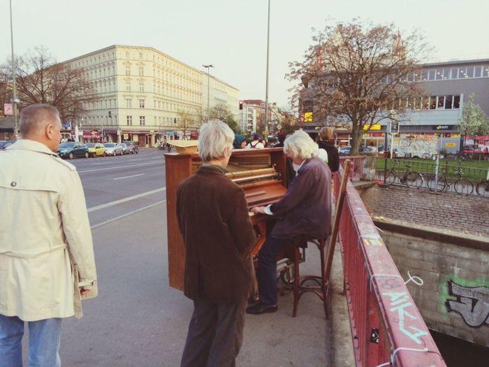 Street-piano Berlin Impressions