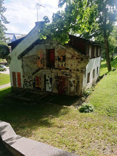 Architecture Built Structure Building Exterior Outdoors Sunlight At Valmiera, Latvia ...