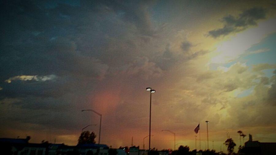 Arizona Sky Arizona Biker Arizonasunsetsarethebest Arizona Sunset Day Dreaming Arizona <3 Sky And Clouds