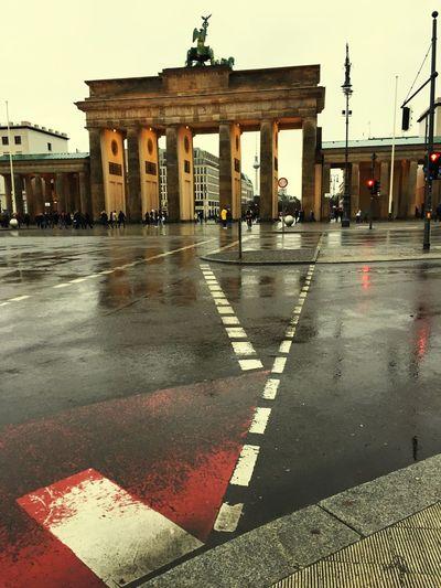 Brandenburger Tor Rainy Days The City Light