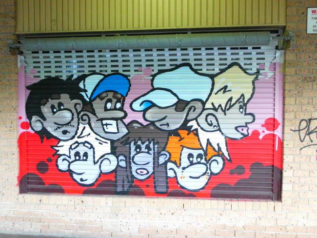 Not there anymore, gone Walking Around Graffiti Streetart