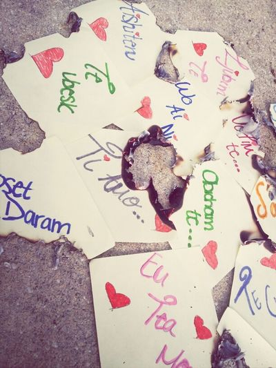 Love Letters Burn