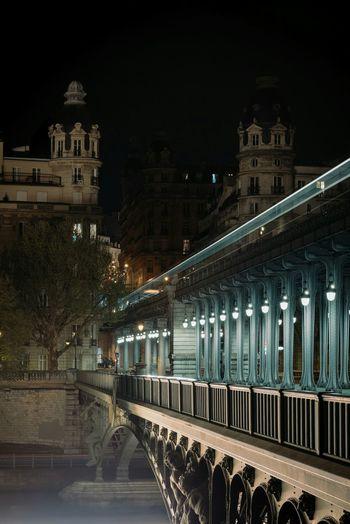 Nightphotography Longexposure Pont De Bir-hakeim Nikon D750