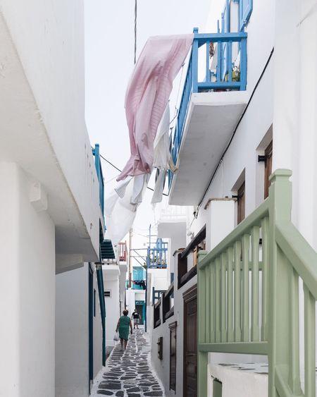 Greece EyeEm Best Shots Cyclades Mykonos Travel Destinations EyeEmNewHere TheWeekOnEyeEM EyeEm Selects Traveling Architecture Built Structure One Person Real People Men Building Exterior Lifestyles Walking