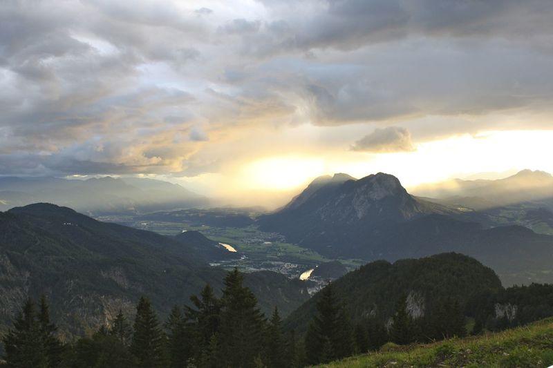 Majestic landscape scene