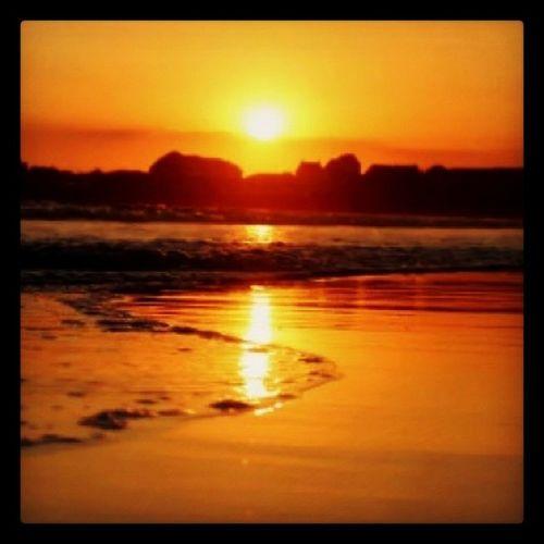Sunset à Saintgillescroisxdevie en Vendée