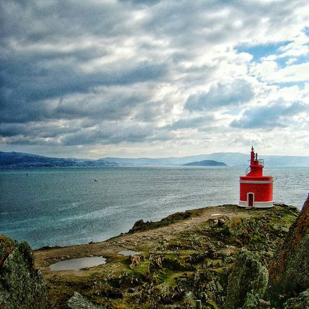 Cabo Home Lighthouse Atlantic Ocean Beauty In Nature Sea And RocksNature Photography No People Lg G4 Photography Outdoor Photography Non-urban Scene Cloud - Sky Tranquil Scene Tranquility Horizon Over Water Outdoors Cloudy Cloud Nature Cloudscape Majestic Ocean Sea Water Galicia, Spain Colour Of Life