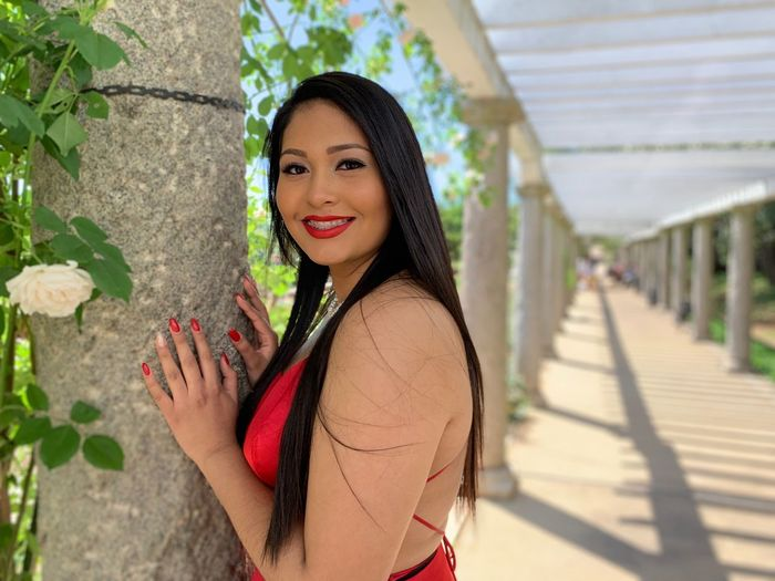 Prom 2019 Looking At Camera Portrait Smiling One Person Real People Young Adult Young Women Standing Happiness Waist Up Beautiful Woman Outdoors Nature Day