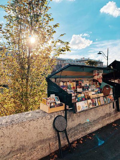 Architecture Autumn Books Cityscape France October Paris Tourist Attraction  Europe Fall Monument Quais De Seine Travel Destinations Vacation