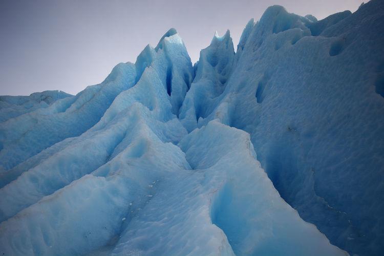 Scenic view on glacier