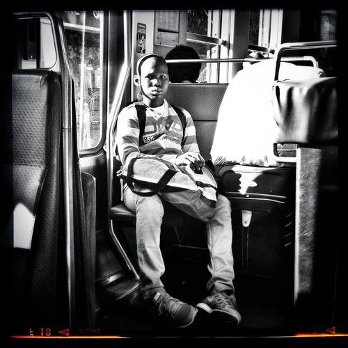 Tristesse de rentrée Public Transportation Blackandwhite Rentrée Subway Portraits