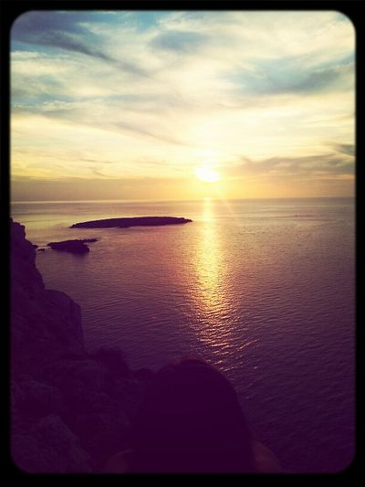 Relaxing Sunset Relax Island Keep Calm Calm Menorca