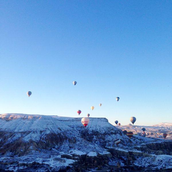 Turkey Turkey ♡ Fire Balloon Cappadocia Sky