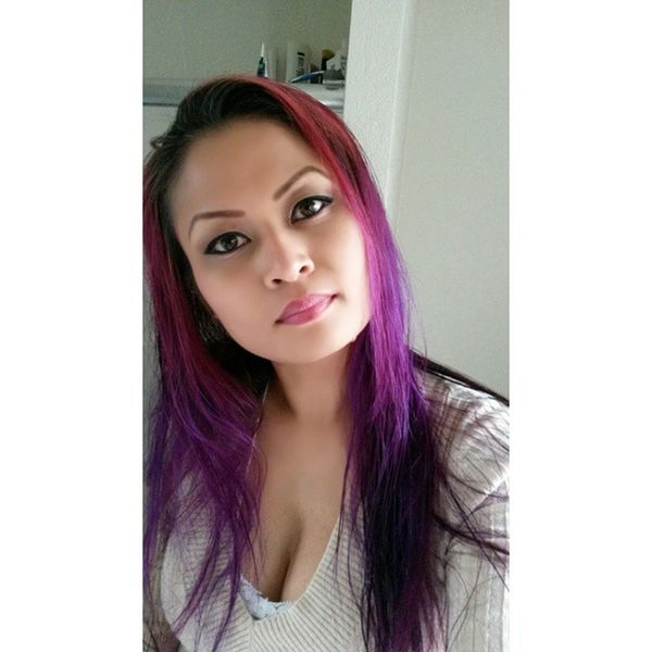 Ifeelprettytoday Yay RainyDay Movietime  Destinysin Purplehair Selfie Ihatewrinkles