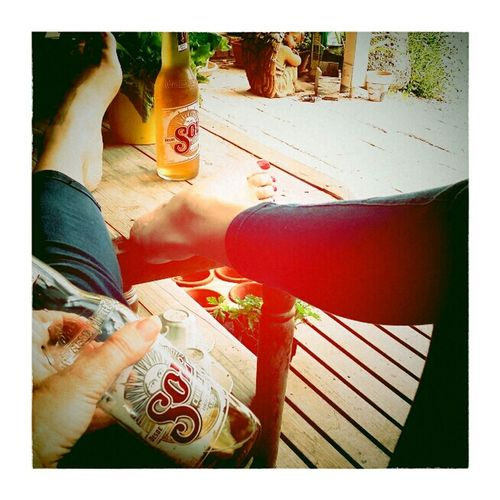 Capture The Moment Feet Up Melbourne Rocks Photography Feet Sol Beer Relaxing Beer Under The Australian Sun
