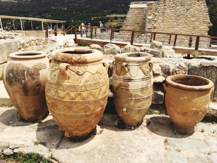 Vacation Palace Knossos Greece Crete