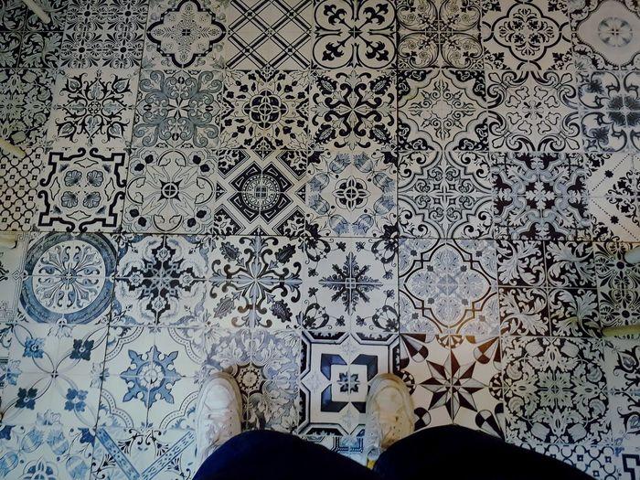 Tile Human Leg