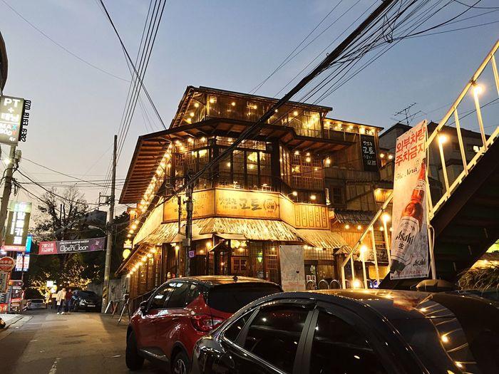 Architecture Street Photography Korea Photos Hongdae Street 이자카야