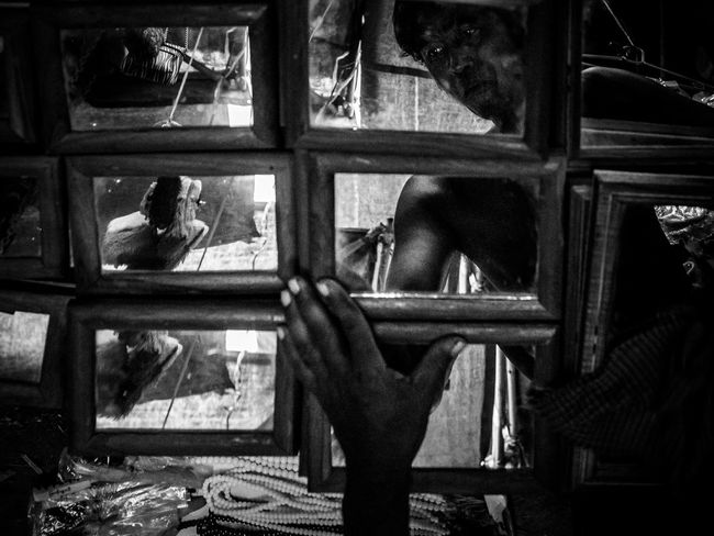Burmese Myanmese Burma Myanmar Cmmaung Cmmaung.me The Street Photographer - 2015 EyeEm Awards Reflection Mirror Shades Of Grey