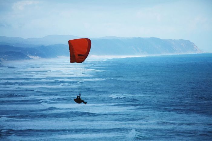 Paragliding beach Weather free Bird flight Colors Of Autumn wind Sea sea side People sports Travel Showcase March The Great Outdoors - 2016 EyeEm Awards