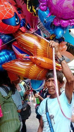Balloons Pahiyasfestival2016 Street Vendor Street Photography The Portraitist - 2016 EyeEm Awards Portrait The Street Photographer - 2016 EyeEm Awards Feel The Journey
