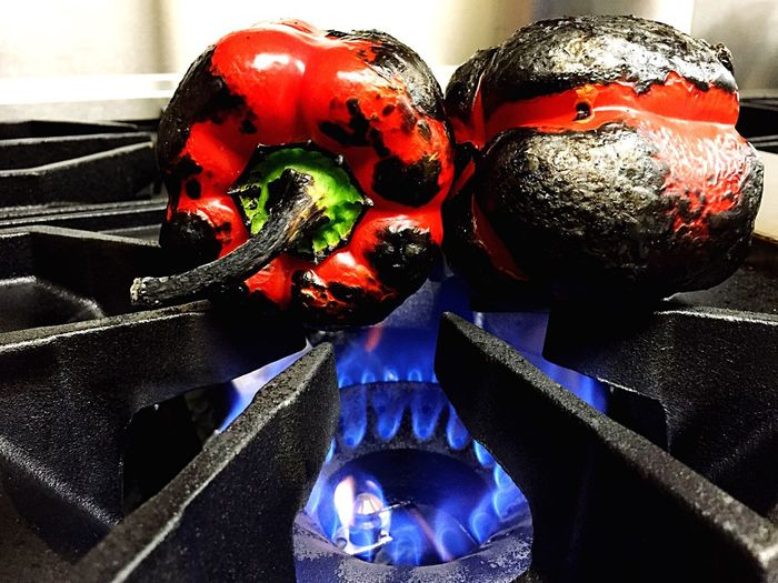 Food Food Art Food Photography Bell Pepper Food On Stove