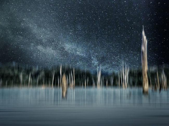 Evening Foto Art Galaxy Lake Mystery Nature Night No People HUAWEI Photo Award: After Dark