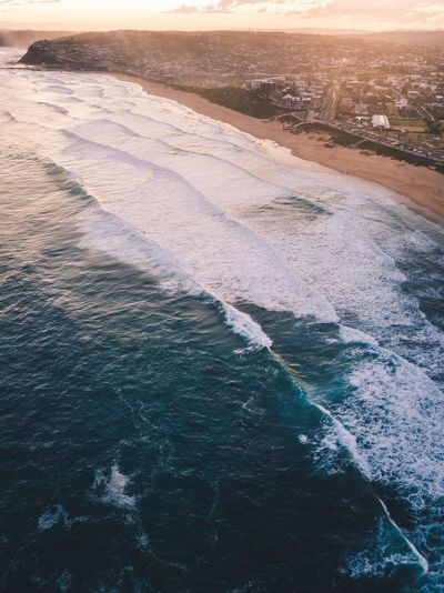 Afternoon salt. Australia Surf Ocean Drones Drone  Water Sea Nature Land Scenics - Nature Beauty In Nature High Angle View Beach Environment Tranquility Blue Travel Landscape Outdoors Aerial View First Eyeem Photo