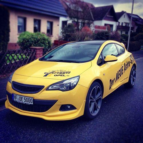 Opel Astra GTC OPC gelb yellow car turbo 20zoll irmscher felgen instagramdotcom instacool photographer picoftheday gm
