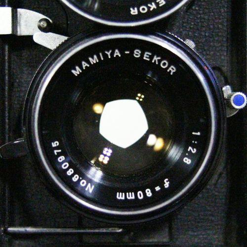 Vintage Camera Mamiya C330 Lens