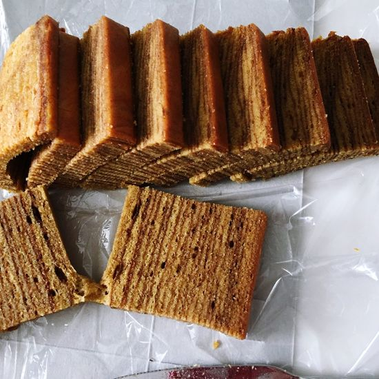 Kuehlapis Asian Culture Asianfood Cake Bread Freshness Food And Drink High Angle View Baked Brown SLICE No People Directly Above Healthy Eating Indoors  Ready-to-eat Close-up Brown Bread Loaf Of Bread Day