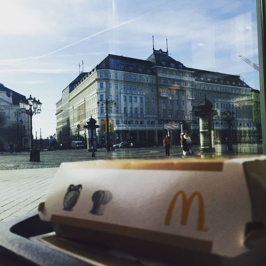 Building Exterior Built Structure Architecture City No People Day Photographer McDonald's Breakfast Waiting Working Hard Workday Carlton Bratislava, Slovakia