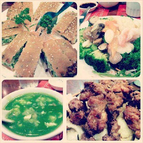 Dinner with folks :) Lukfoo Cantonese Dinner Foodstagram instafoodasian