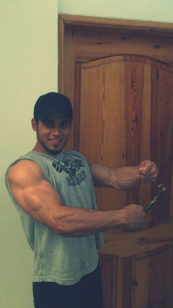 ^_^ It's Me Today Morning Bodybuilding Funny Times