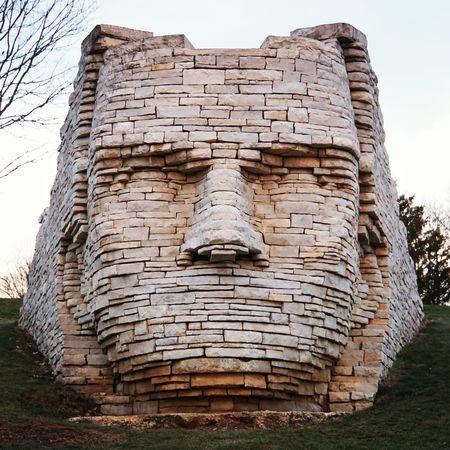 Sculptures Faces Statues Art