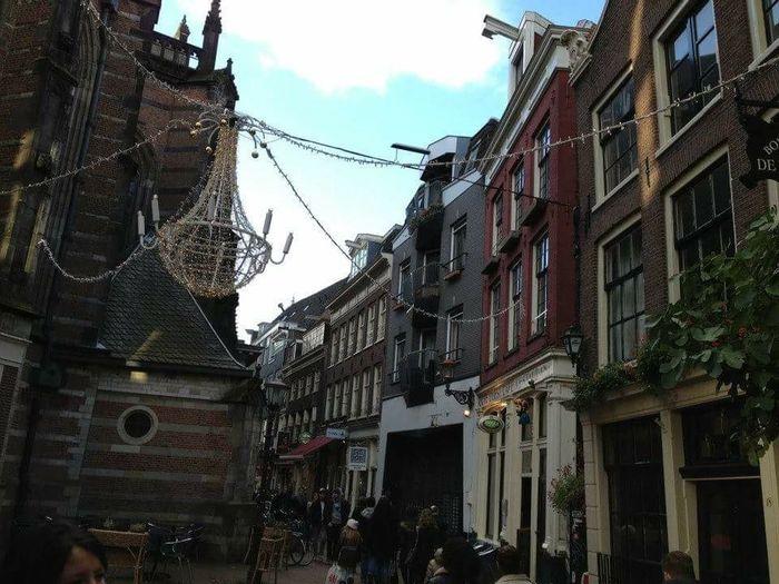 Amsterdamcity Cold November Day
