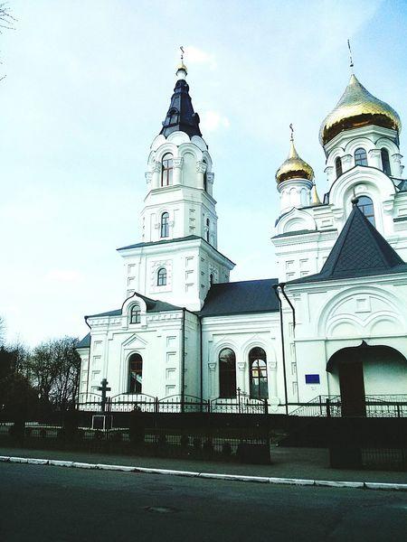 Cathedral Ukraine Zhytomyr Beatiful Arhitecture Sunday Summer Love My Sity